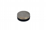 Solid Steel Round 75mm Bench Block Anvil with Rubber Base, Forming, Stamping. J2078